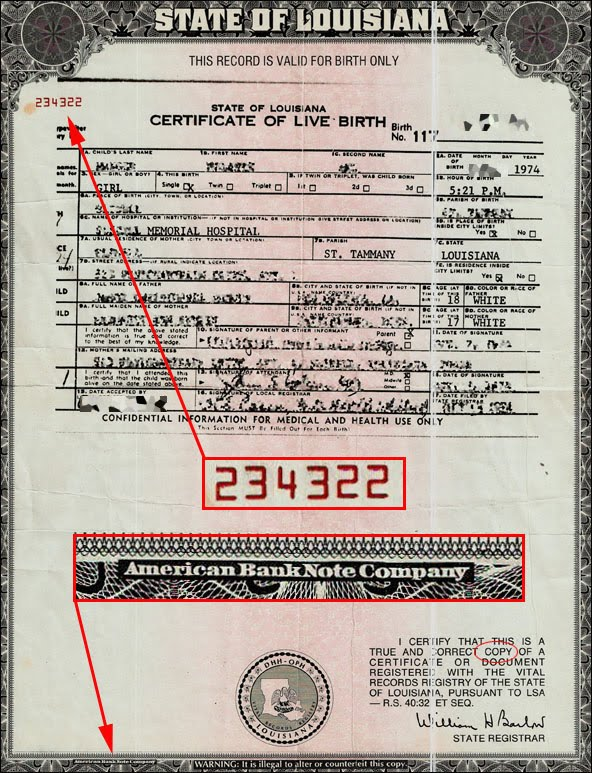 The Truth About Your Birth Certificate… – ronaldwederfoort